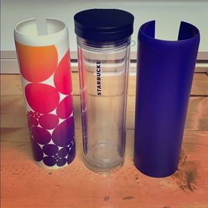 Starbucks Cup w/covers